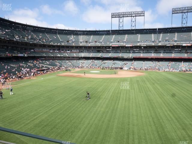 Oracle Park Arcade 147 view