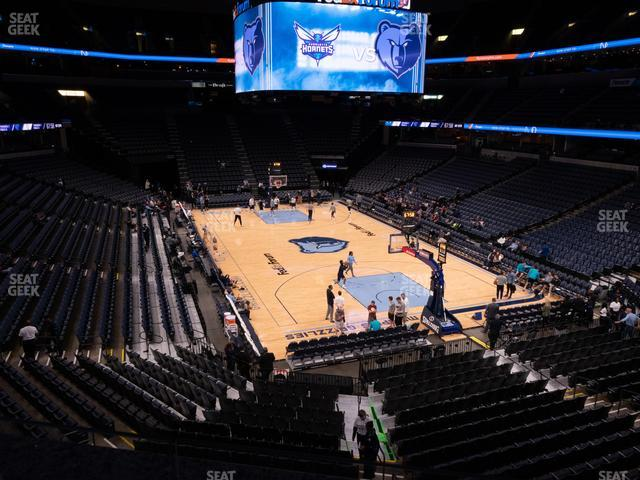 FedExForum Section 108 A view