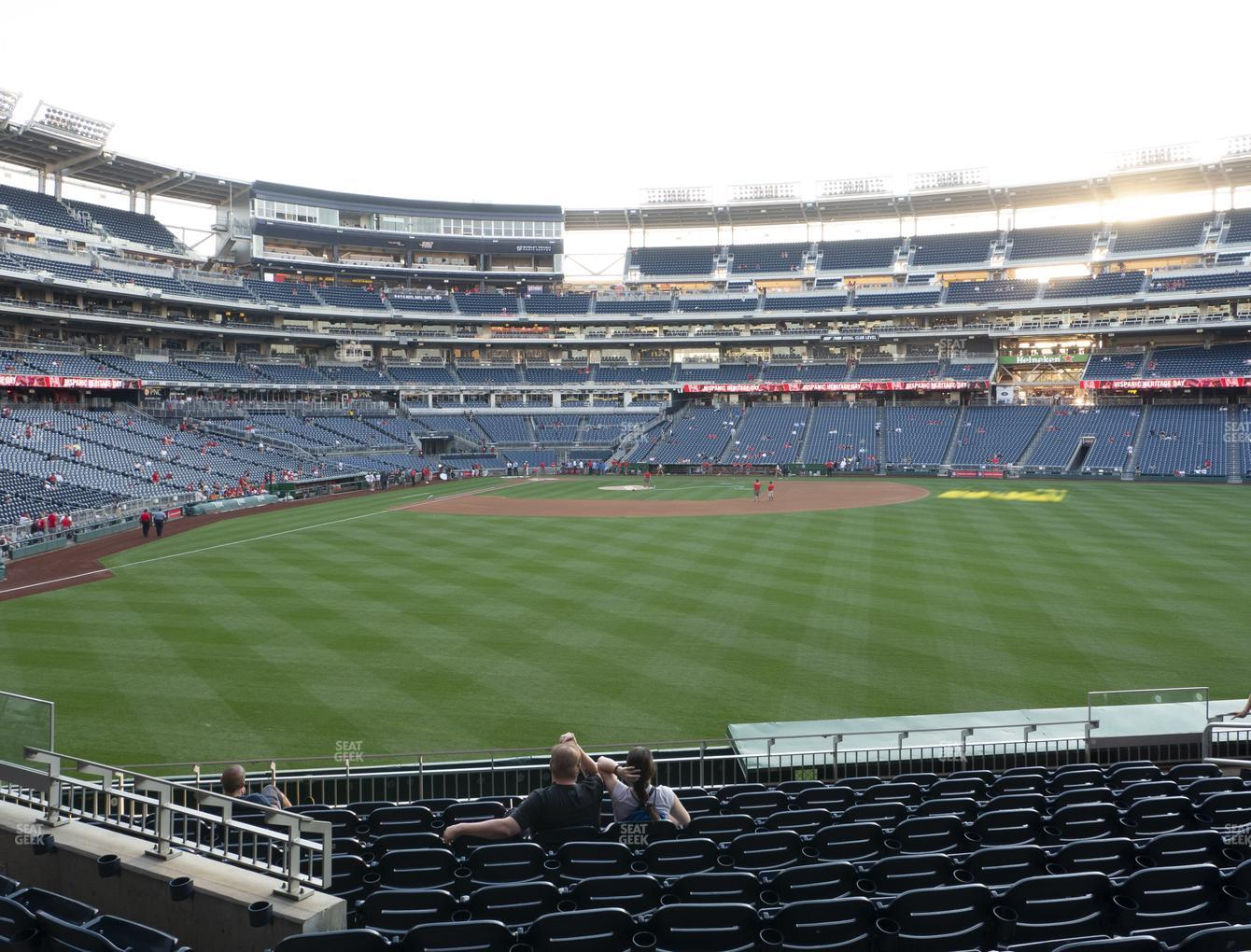 Nationals Park Section 140 Seat Views