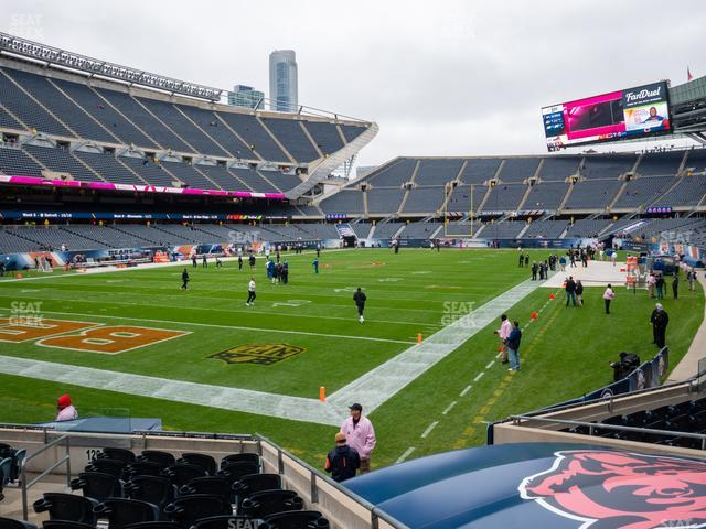 Soldier Field Section 119 view