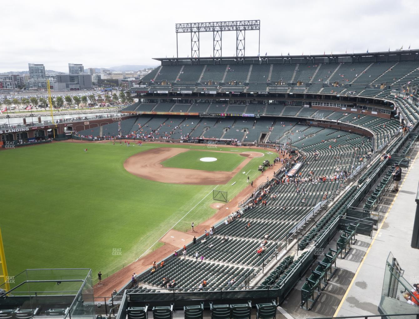 San Francisco Giants at Oracle Park Section 333 View