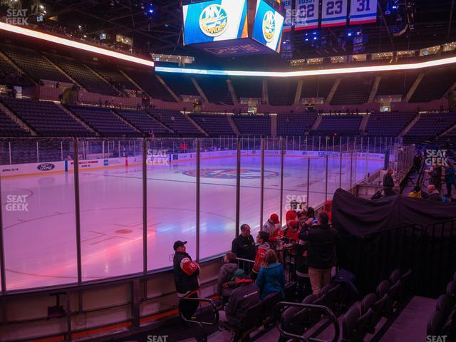 Nassau Veterans Memorial Coliseum Section 21 view