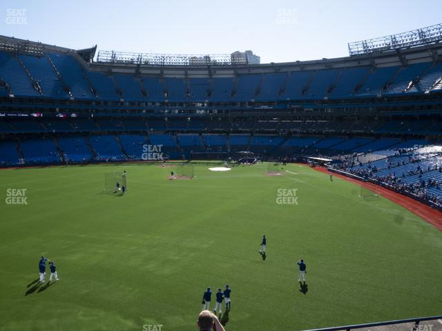 Rogers Centre Section 243 R view