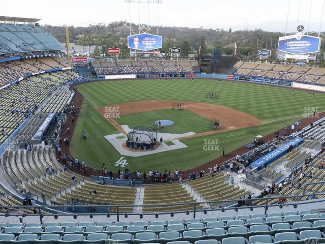 Dodger Stadium Reserve 4 view