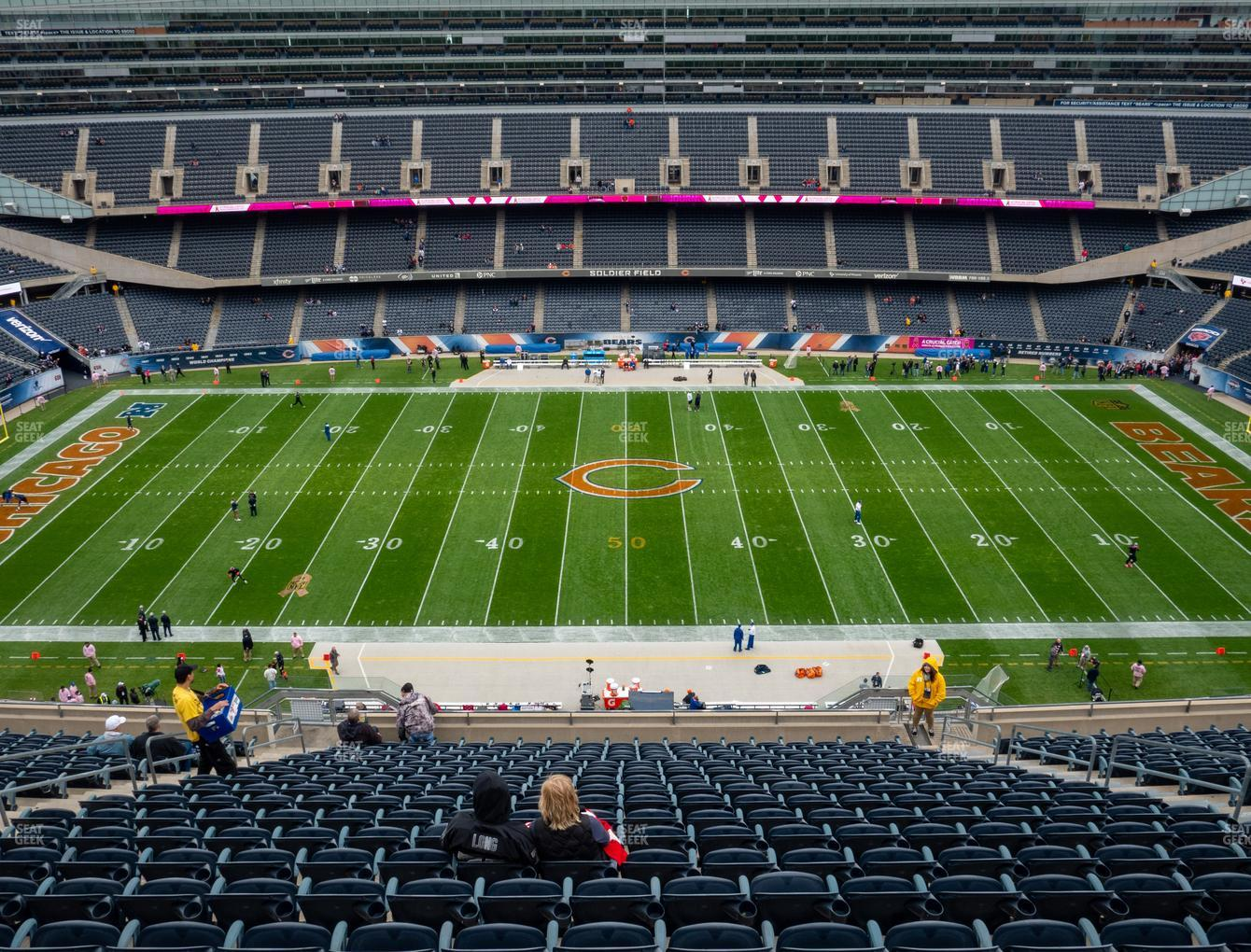 Chicago Bears at Soldier Field Section 437 View