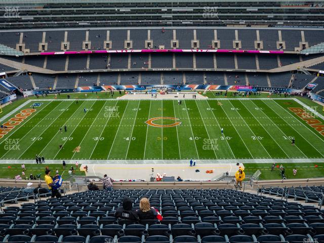 Soldier Field Section 437 view
