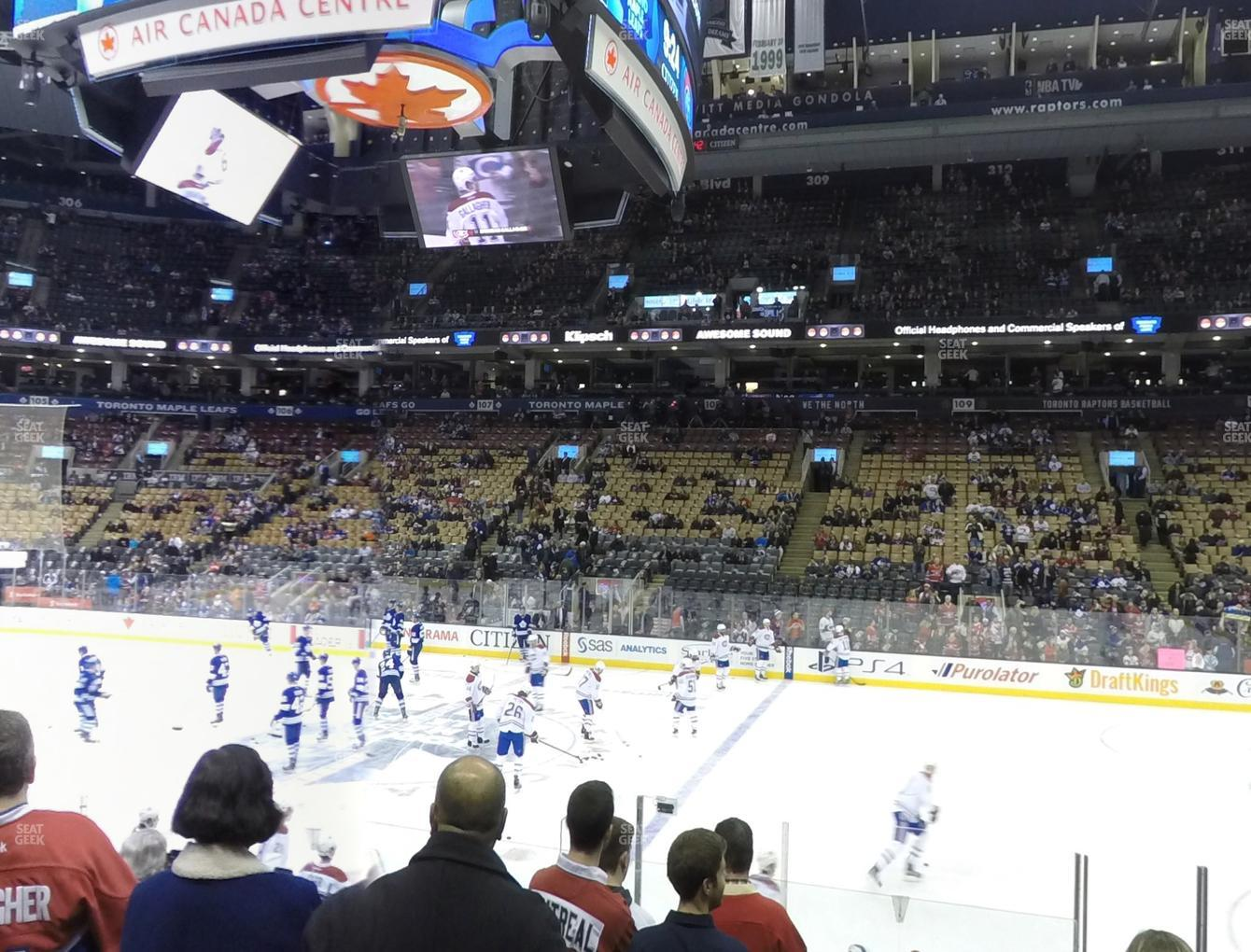Toronto Maple Leafs at Scotiabank Arena Section 118 View
