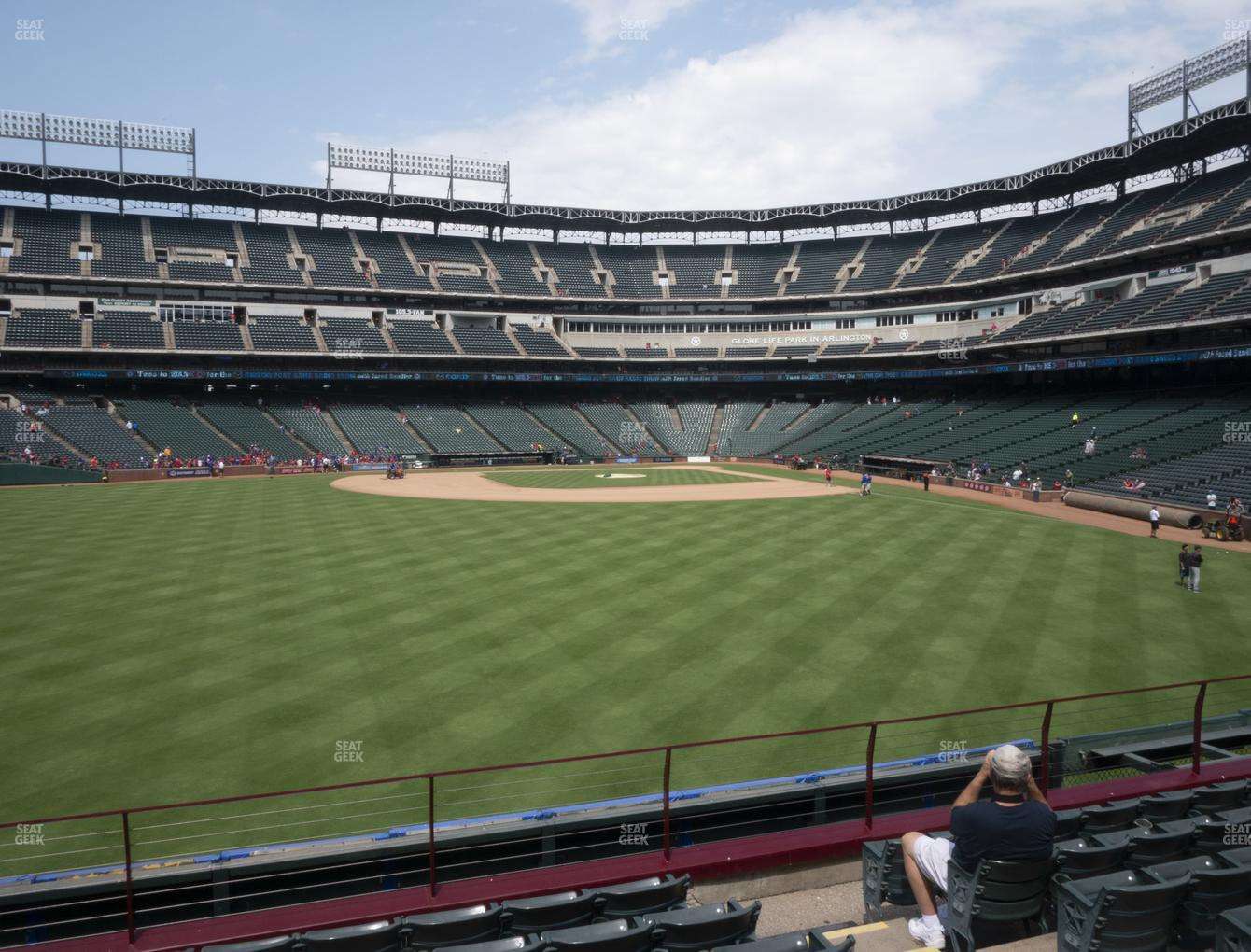 NHL at Globe Life Park Section 3 View
