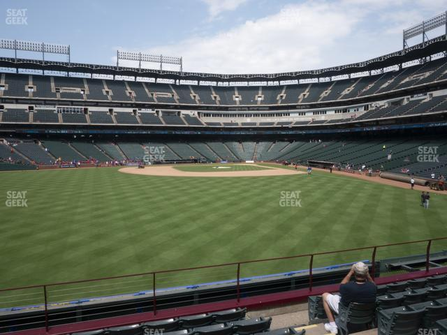 Globe Life Park Section 3 view