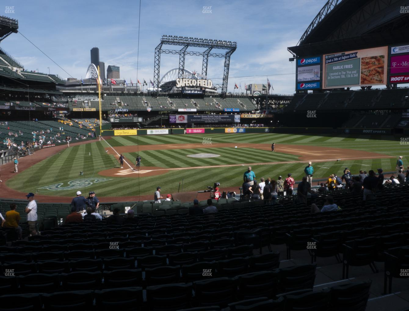 Seattle Mariners at T-Mobile Park Section 126 View