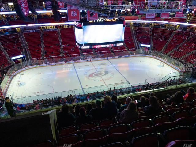 PNC Arena Section 305 view