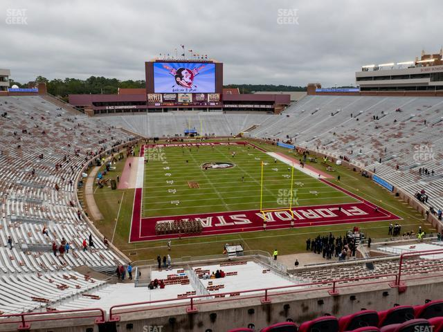 Doak Campbell Stadium Section Club 323 view