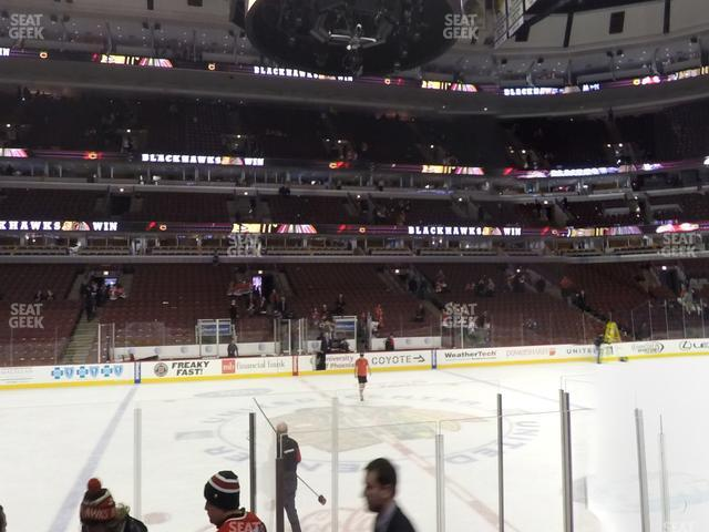United Center Section 112 view