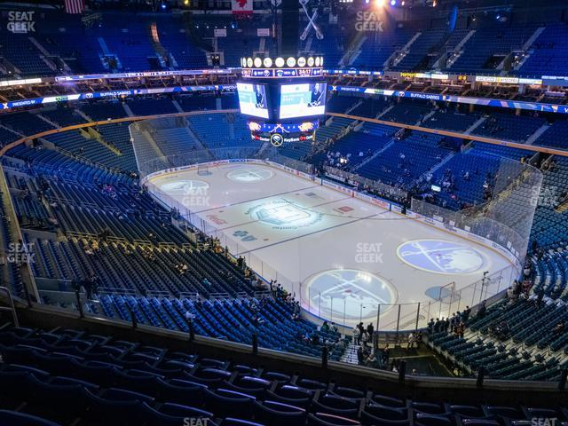 KeyBank Center Section 316 view