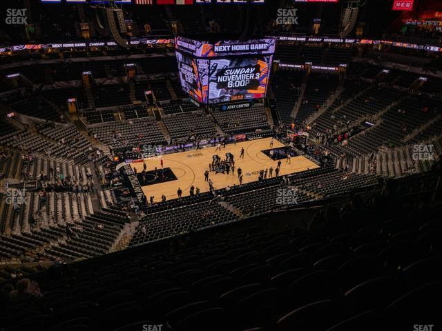 AT&T Center Section 226 view