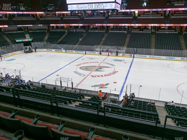 Honda Center Section 306 view