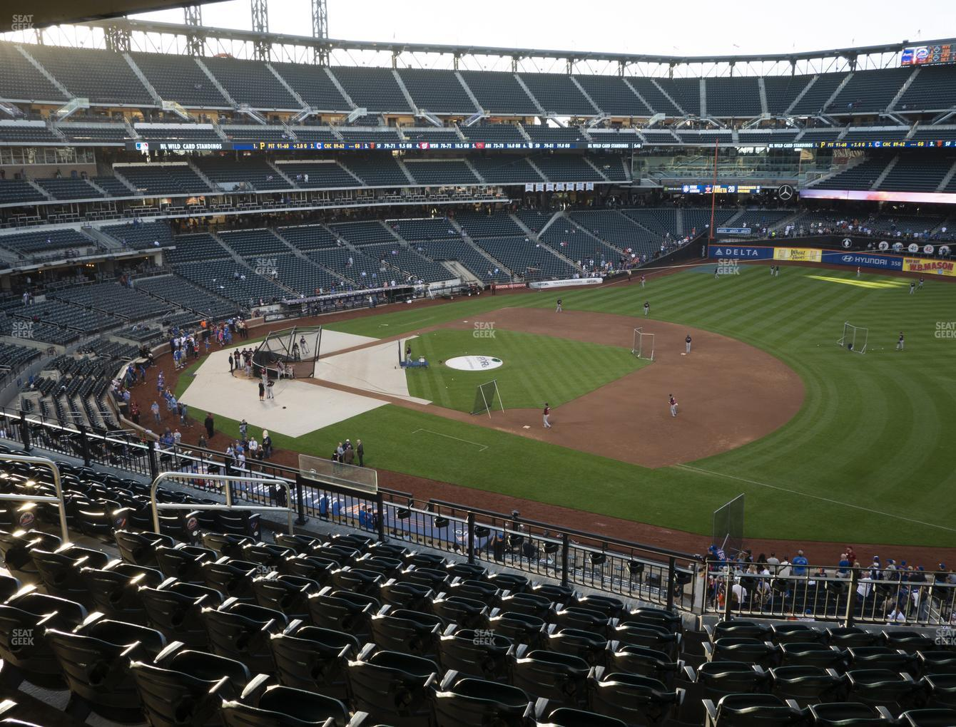 New York Mets at Citi Field Section 309 View