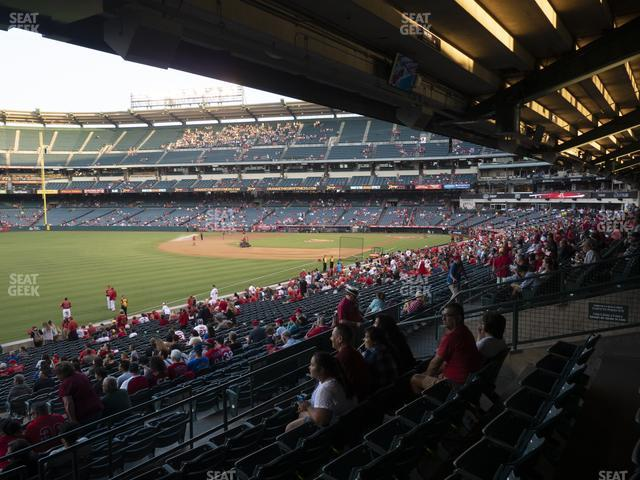 Angel Stadium of Anaheim Section 205 view