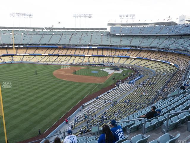 Dodger Stadium Reserve 51 view