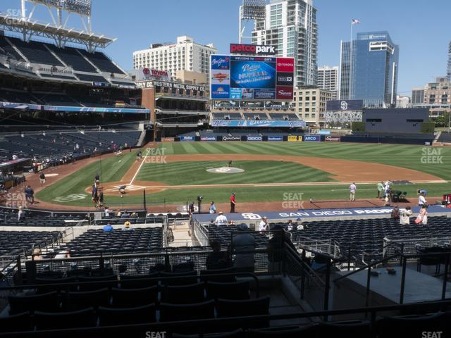 Petco Park Premier Club L view