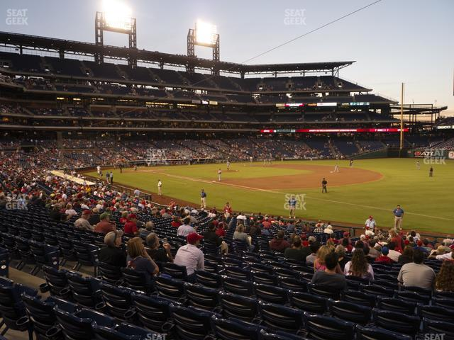 Citizens Bank Park Section 111 view
