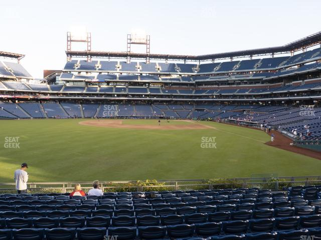 Citizens Bank Park Section 143 view