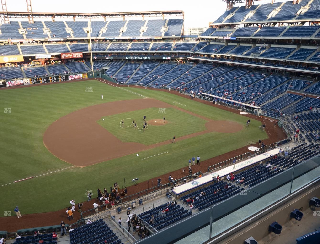 Philadelphia Phillies at Citizens Bank Park Section 328 View