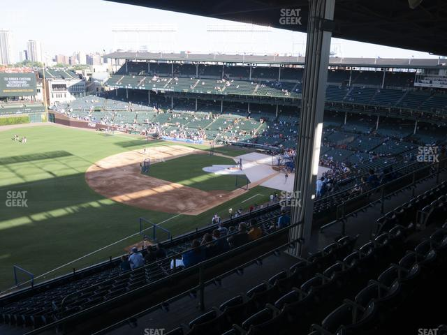 Wrigley Field Section 405 Left view