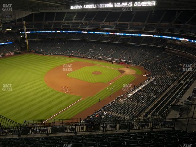 Minute Maid Park Section 407 view