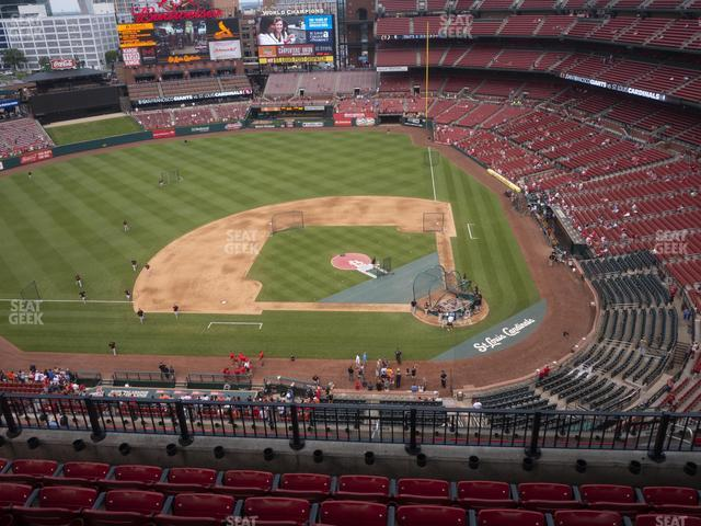 Busch Stadium Infield Terrace 454 view