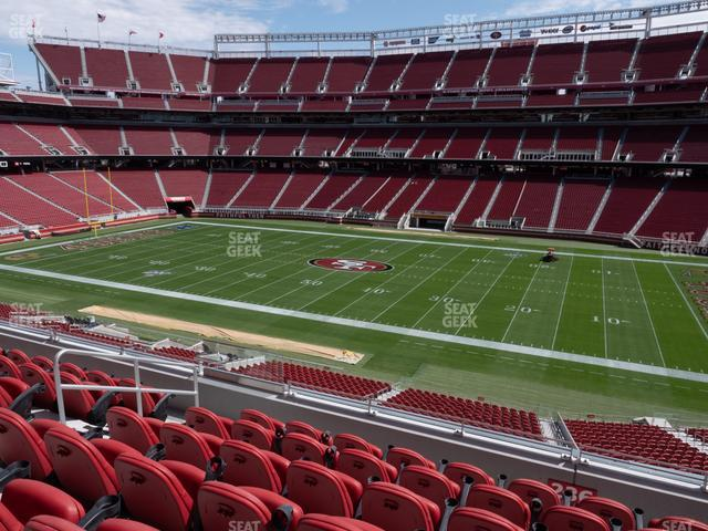Levi's Stadium Section C 236 view