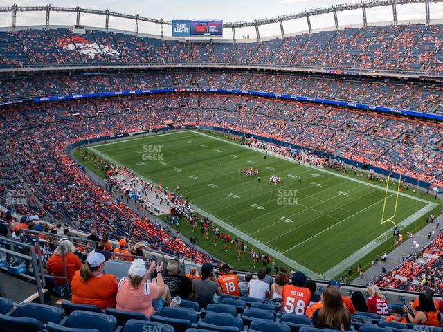 Empower FIeld at Mile High Section 501 view