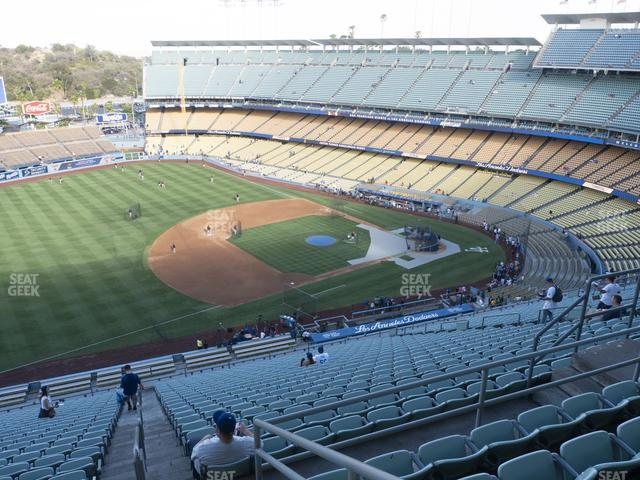 Dodger Stadium Reserve 29 view