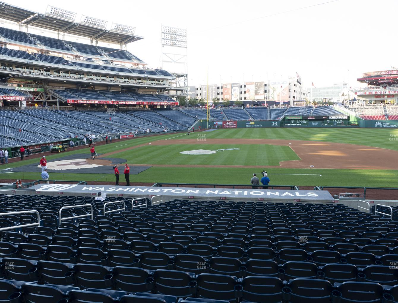 Nationals Park Section 131 Seat Views Seatgeek