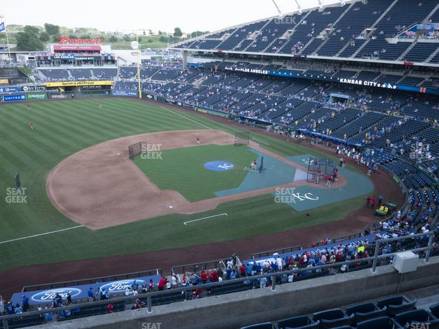 Kauffman Stadium Section 409 view