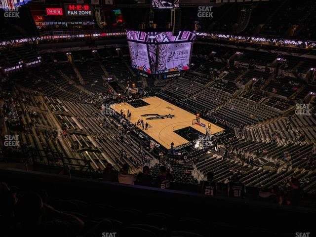 AT&T Center Section 203 view