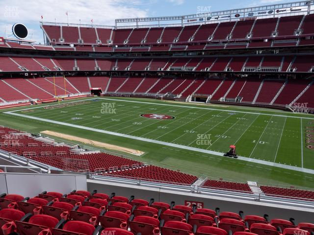 Levi's Stadium Section 235 view