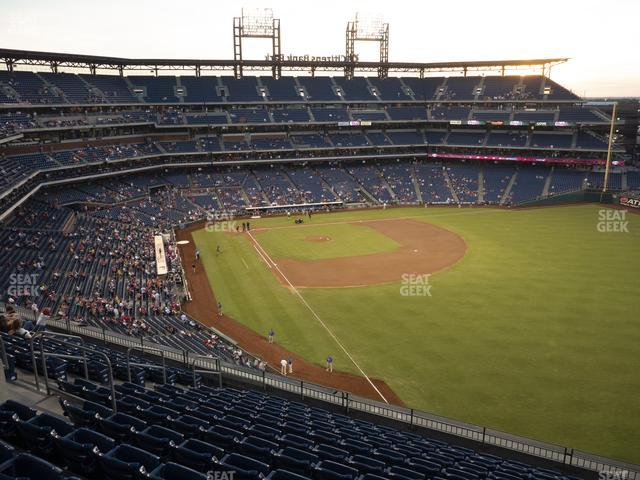 Citizens Bank Park Section 307 view