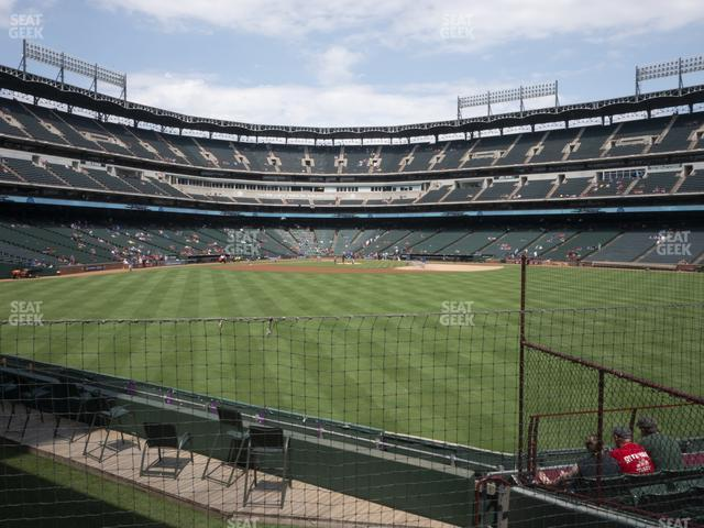 Globe Life Park Section 50 view