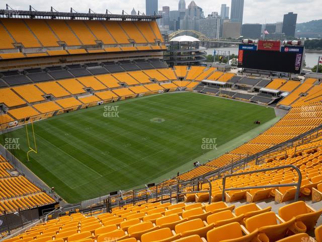 Heinz Field Section 528 view