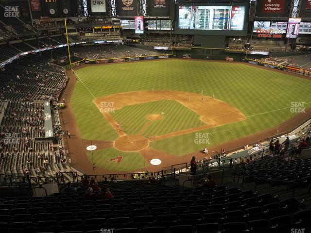 Chase Field Section 314 view