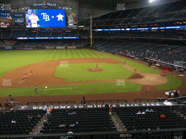 Minute Maid Park Section 213 view