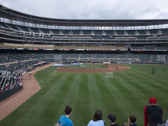 Target Field Section 138 view