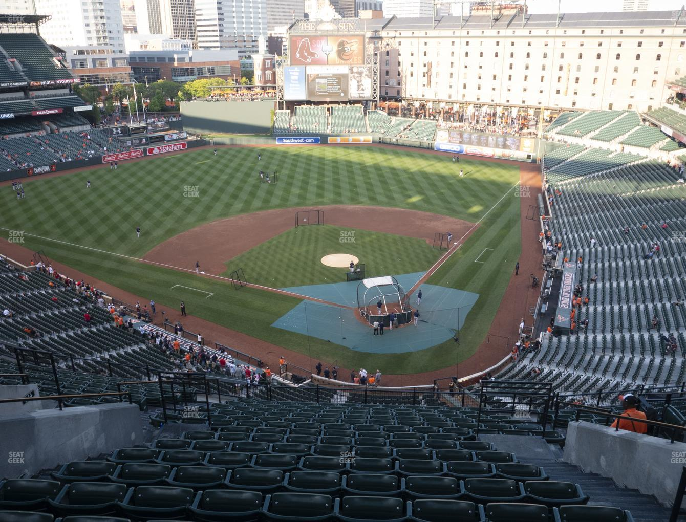 Baltimore Orioles at Oriole Park at Camden Yards Section 342 View