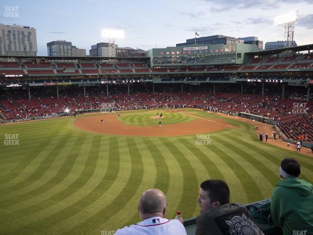 Fenway Park Green Monster 7 view