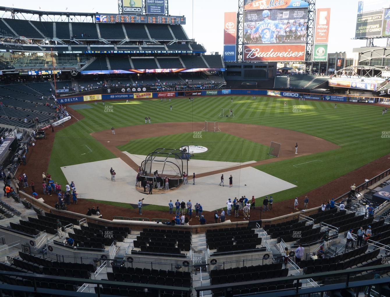 New York Mets at Citi Field Section 317 View