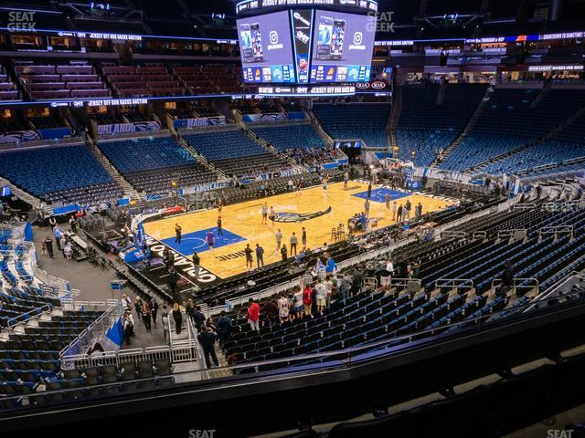 Amway Center Section Club F view