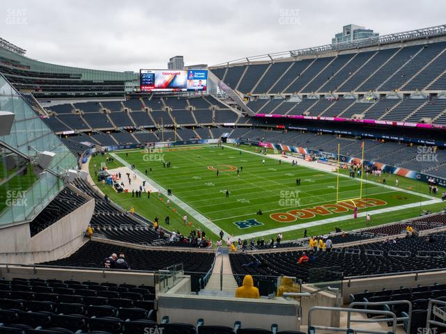 Soldier Field Section 356 view