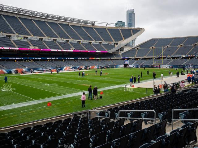 Soldier Field Section 114 view