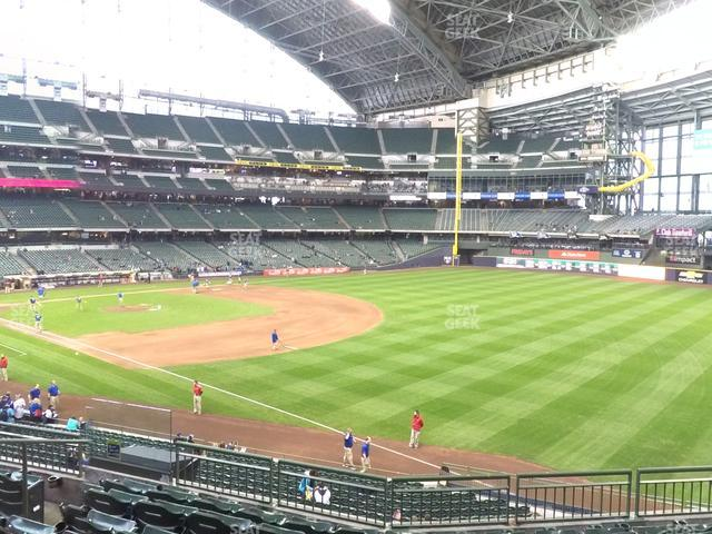 Miller Park Section 208 view